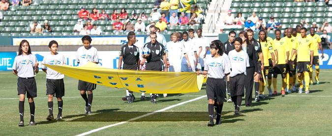 concacaf gold cup match between Costa Rica vs El Salvador