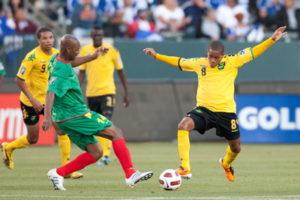 concacaf gold cup match between Greneda vs Jamaica