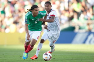 concacaf gold cup match between Mexico and Panama