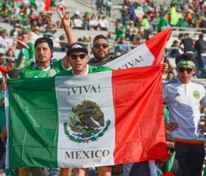 copa america mexico fans