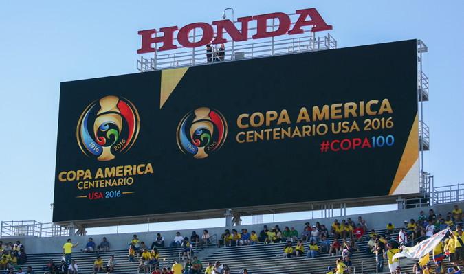 copa america score board