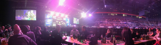 darts premier league in liverpool panoramic