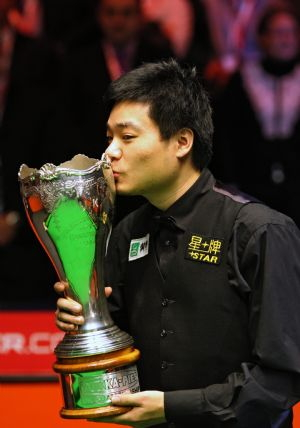 ding junhui snooker uk championship winner