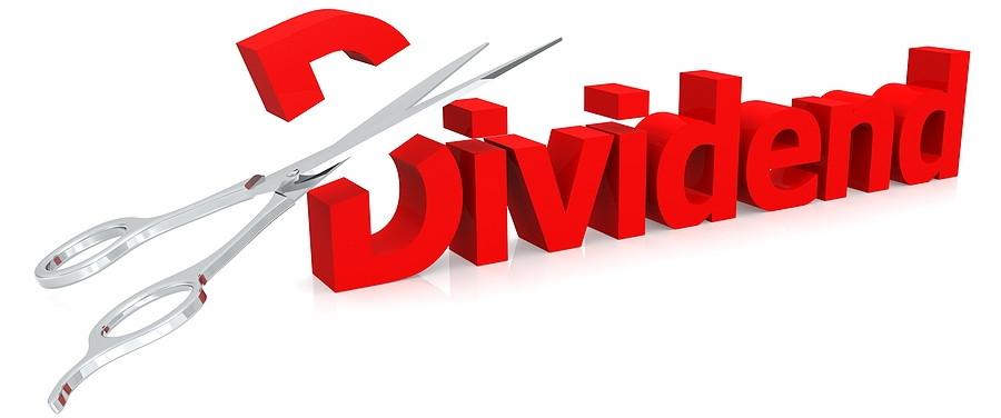 dividend cut