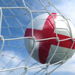 england football hitting the back of the net