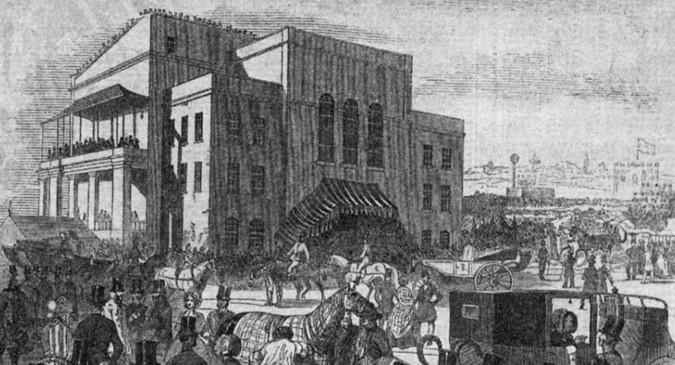 epsom racecourse stand 1840s