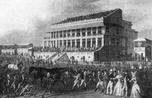 epsom racecourse in 1830s