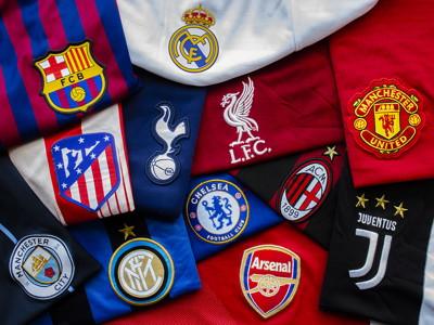 european super league twelve clubs logos
