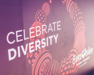 eurovision song contest celebrate diversity slogan