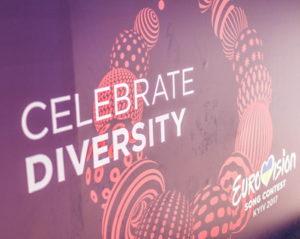 eurovision song contest celebrate diversity slogan