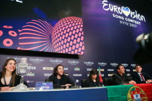 eurovision song contest press conference