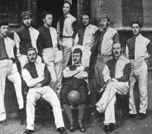 fa cup winners oxford university in 1876