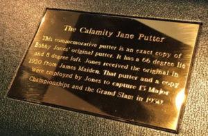 fedex cup calamity jane putter