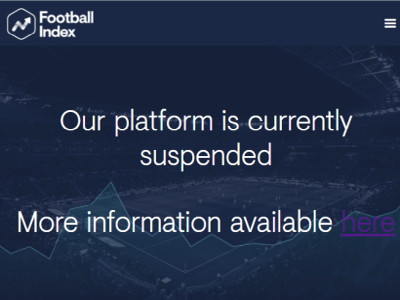 football index suspended