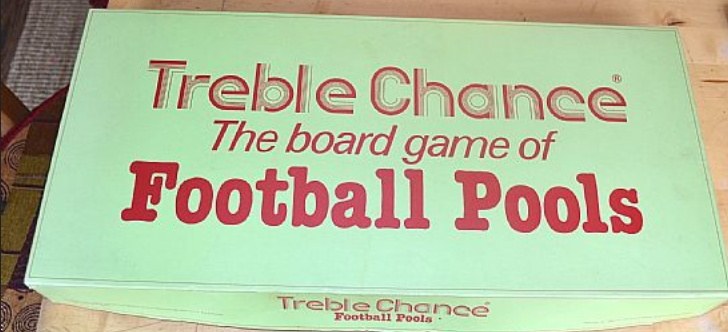 football pools old board game