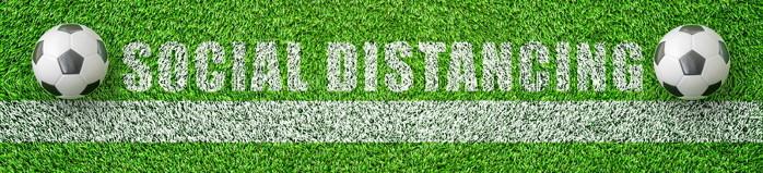 football social distancing