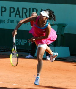 french open female tennis player