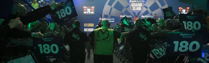 grand slam of darts michael van gerwen