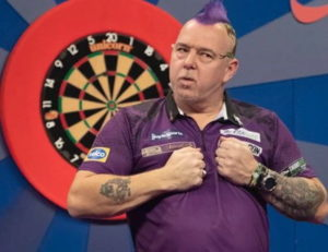 grand slam of darts peter wright