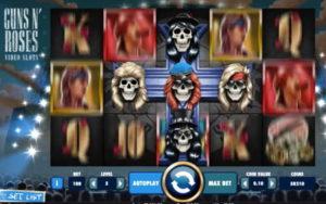 guns and roses slot game
