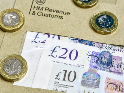 hmrc letter and money