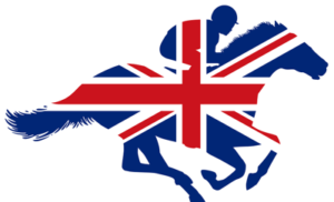 horse silhouette with union jack
