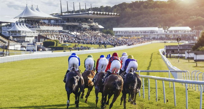 horses running in a goodwood