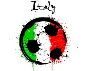 italy flag football