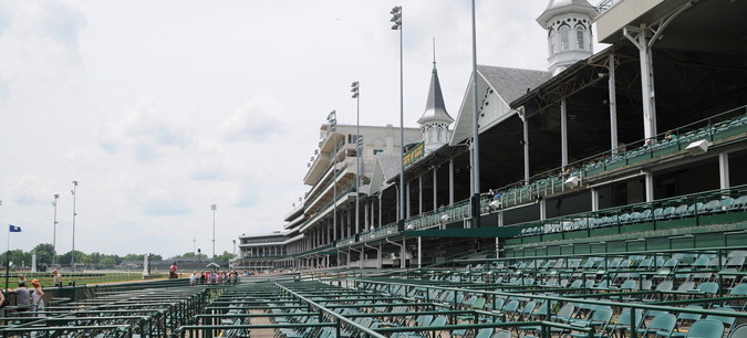 kentucky derby churchill downs stands