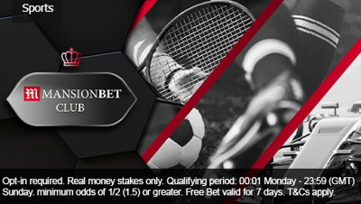 mansionbet free bet club