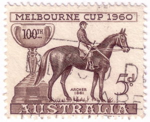 melbourne cup 1860 stamp