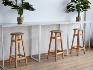 modern cafe hub style workspace