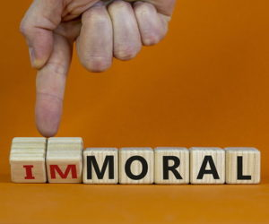 moral immoral blocks