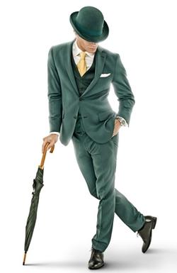 Mr Green Mascot