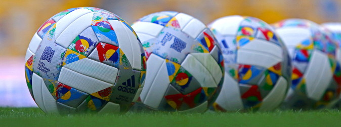 nations league footballs