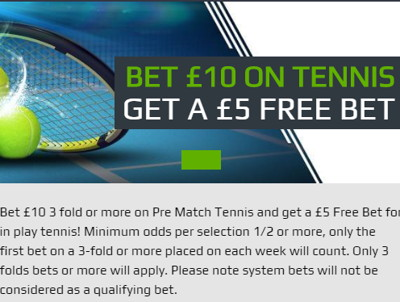 netbet tennis free bet