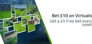 netbet virtuals free bet weekly