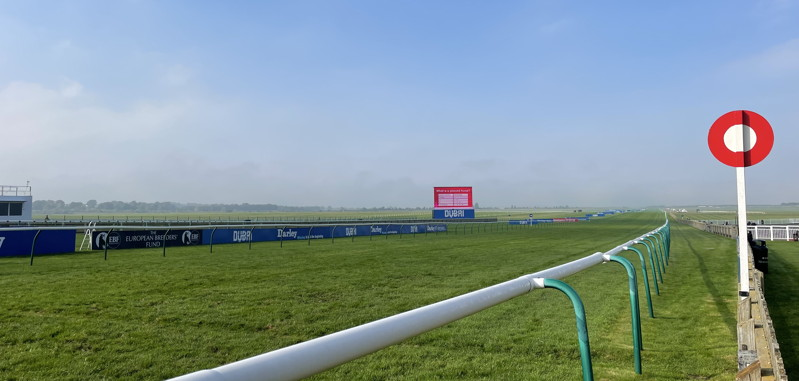 newmarket rowley mile from behind winning post