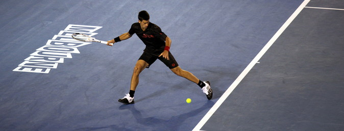 novak djokovic at the australian open