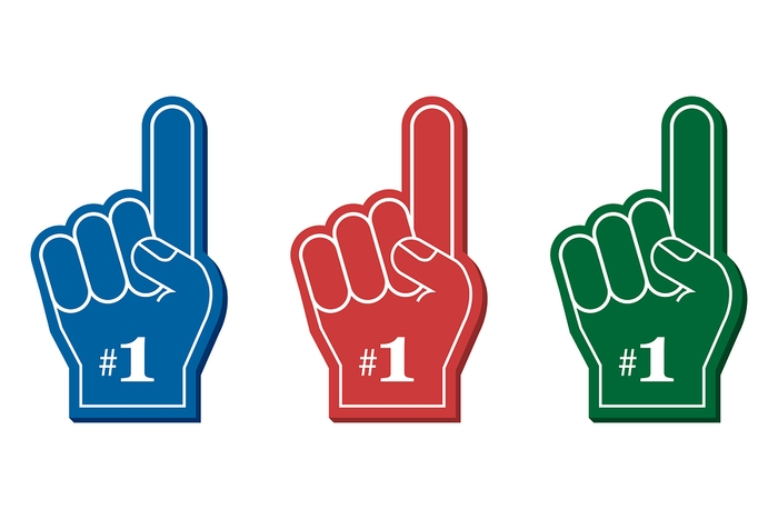 No1 Foam Fingers