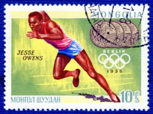 olympic games 1936 berlin jesse owens stamp