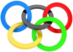 olympics logo tangled up