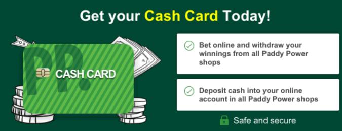paddy power cash card
