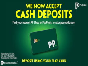 paddy power deposit via paypoint