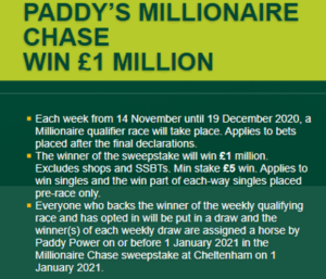 paddy power millionaire chase