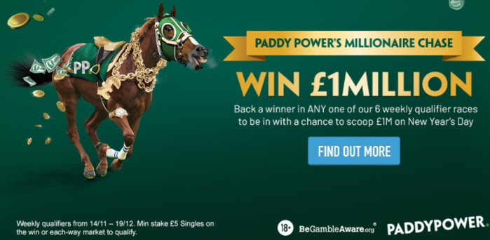 paddy power millionaire chase wide