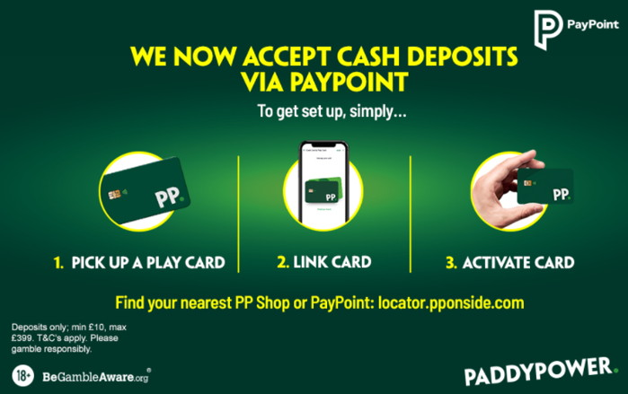 paddy power pay via paypoint