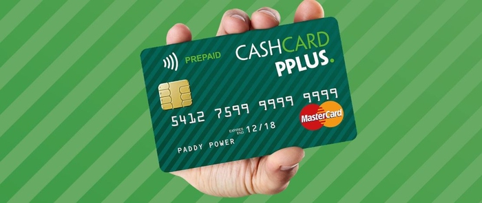 Paddy Power Cash Card PPlus
