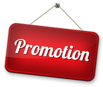 promotion sign