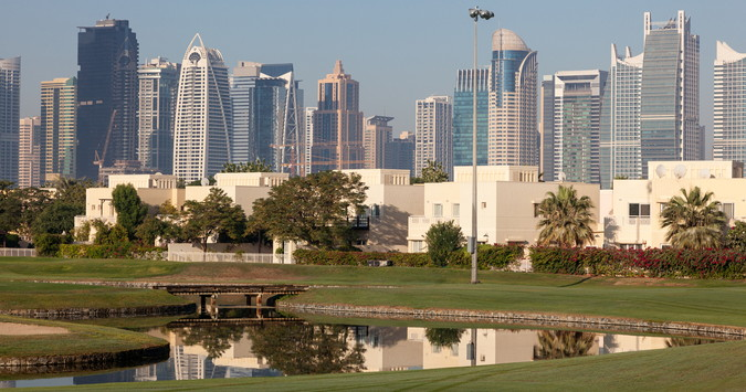 race to dubai jumeirah golf course